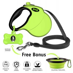 Ruff 'n Ruffus Heavy-Duty 16ft Retracting Dog Leash