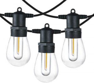 SUNTHIN 48FT LED Outdoor String Lights