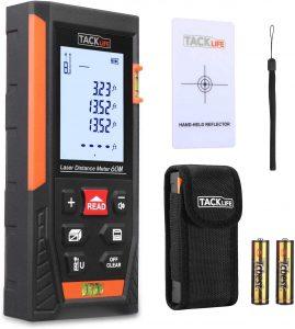 Tacklife HD60 Classic Laser Measure 196Ft