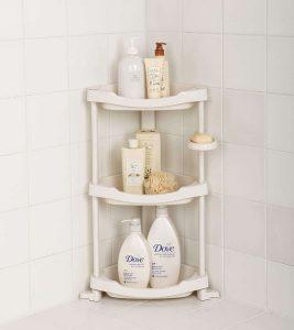 Tenby Living Corner Shower Shelf
