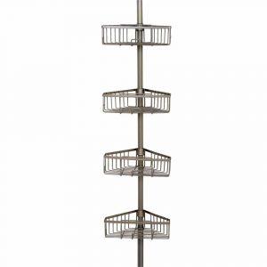 Zenna pole shower shelf