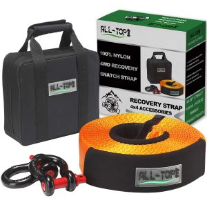 ALL-TOP Nylon Heavy Duty Tow Strap