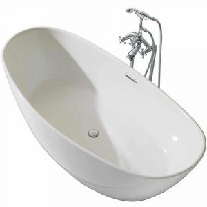 ARIEL Platinum PS118-7034 Freestanding Bathtub