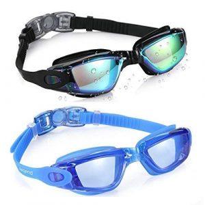 Aegend Swim Goggles, 2-Pack