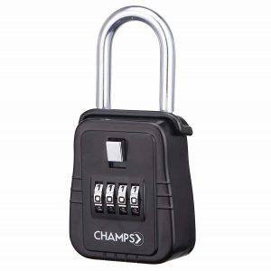 Champs Combination 4 Digit Key Padlock Realtor Lock