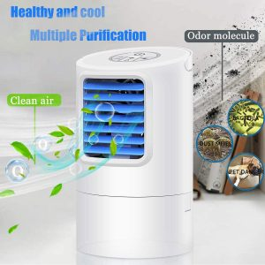 GREATSSLY Mini Evaporative Air Cooler