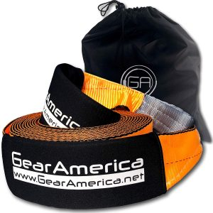 "GearAmerica Recovery Tow Strap 4"" x 30'"
