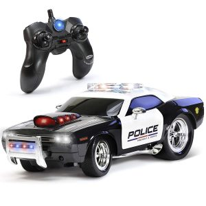 KidiRace RC Remote Control Police Car