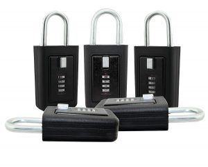 Lion Locks LS-8900 5 Pack REALTOR Key Lock Box
