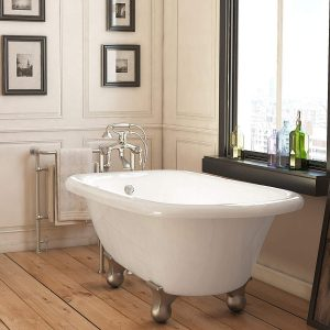 Luxury 54 Inch Freestanding Bathtub