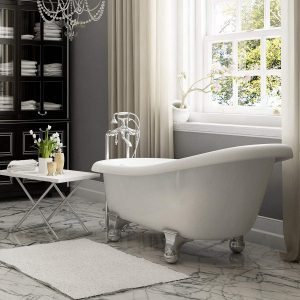 Luxury 60 inch Modern Clawfoot Tub