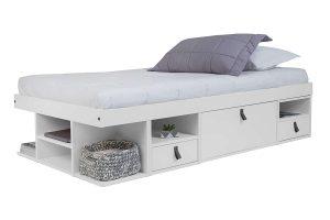 Memomad Bali Twin Size Storage Platform Bed