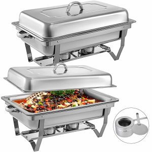 Mophorn Chafing Dish, Stainless Steel for Catering Buffet