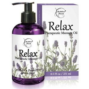 Relax Therapeutic Body Massage Oil