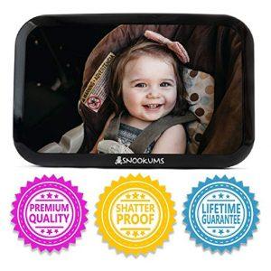 Snookums Baby Mirror for Car