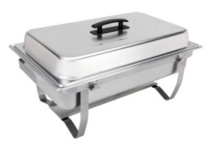 Sterno Products 70153 Buffet Chafer Set, Silver