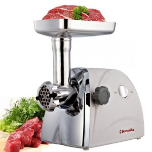 Sunmile SM-G31 Meat Grinder, 3pcs Stainless Steel