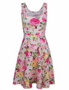 TAM WARE Women's Casual Fit Summer Dress