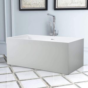 Vanity Art Freestanding Acrylic Bathtub