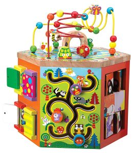 ALEX Toys Woodland Wonders Activity cube Center
