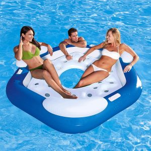 Bestway 3-Person Floating Water Island