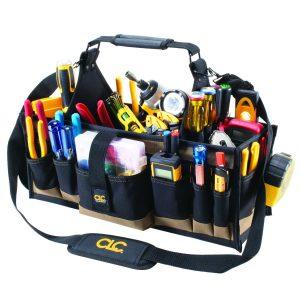 Custom Leathercraft 1530 43 Pocket Electrical Tool Bag