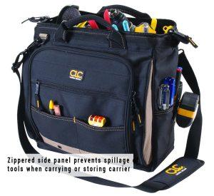 Custom Leathercraft 1537 30 Pockets Multi-Compartment Tool bag