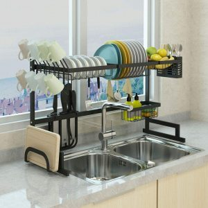 Dish Drying Rack Over Sink Display