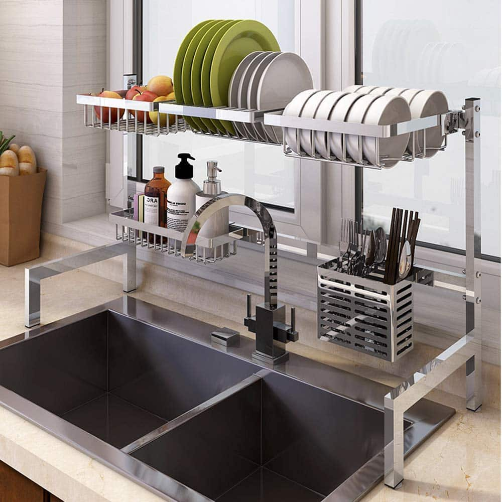 Top 10 Best Dish Drying Racks Over Sink Display Stand in 2020 Reviews