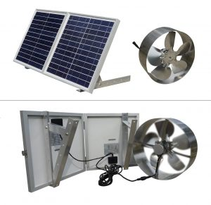 ECO-WORTHYSolar Powered Fan