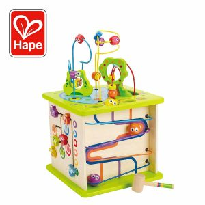 Hape Country Critters Activity Play Cube (Wooden)