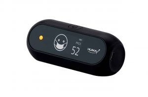 Huma-i (HI-150) Portable Indoor Outdoor Air Quality Monitor- Black