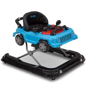 Jeep Classic Wrangler Baby Walker, Blue (3-in-1)