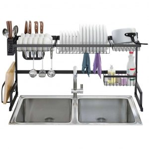 LANGRIA Over Sink Dish Drying Rack
