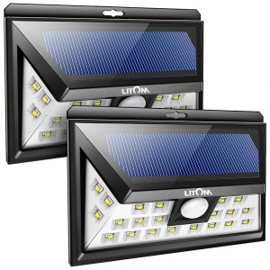 LITOM Original Wireless Motion Sensor Outdoor Solar Lights