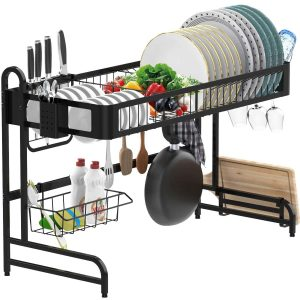 LeaderPro Over the Sink Dish Drying Rack