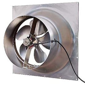Natural Light Gable Exhaust Vent Solar Powered Fan