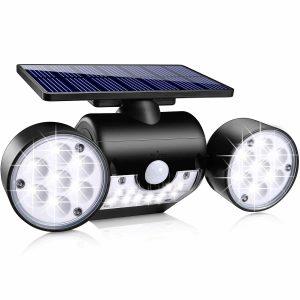Ollivage Solar Wall Light Outdoor w/Motion Sensor
