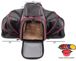 PetPeppy Premium Expandable Pet Carrier