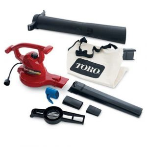 Toro 51619 250 mph Ultra Electric Blower Vac, Red