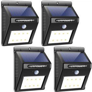 URPOWER Wireless Motion Sensor Solar Lights