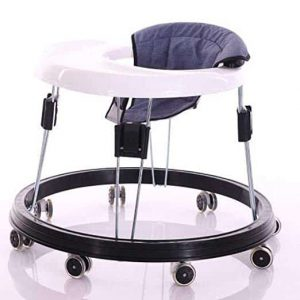 YU KEN Adjustable Height Baby Walker for Boys & Girls