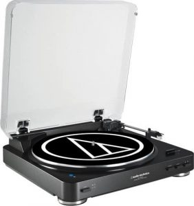 Audio Technica AT-LP60BK-BT Turntable Bluetooth