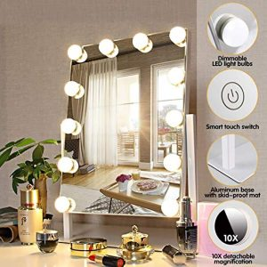 FENCHILIN Lighted Makeup Vanity Mirror