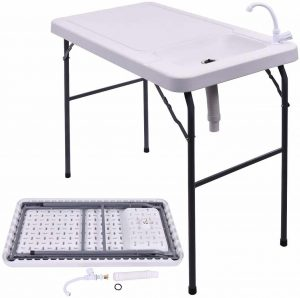 GYMAX Fish Cleaning Table