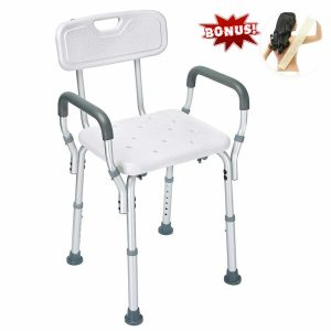 Health Line Shower Chair with Back &Arms