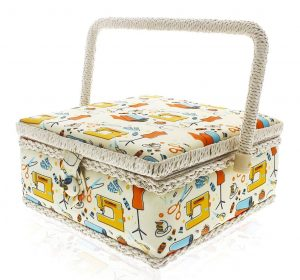 Jubal Sewing Basket Organizer