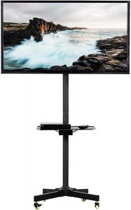 LCD LED Plasma Flat Screen Panel Rolling Stand