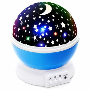 Lizber Baby Night Light Star Projector