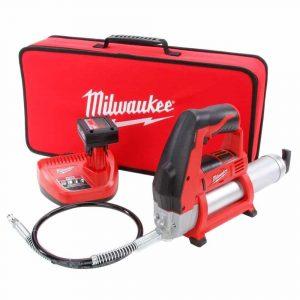 Milwaukee 2446-21XC 12-Volt Electric Grease Gun